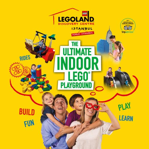 25% OFF on your Tickets for Legoland Discovery Center in Istanbul!