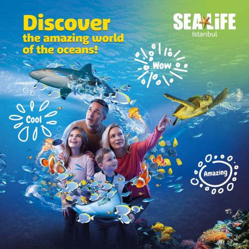 Sea Life Istanbul Tickets are 25% cheaper just for you!